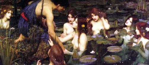 Las sirenas se concebían como hermosas mujeres