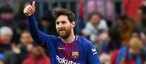 Leo Messi vive momento de felicidade