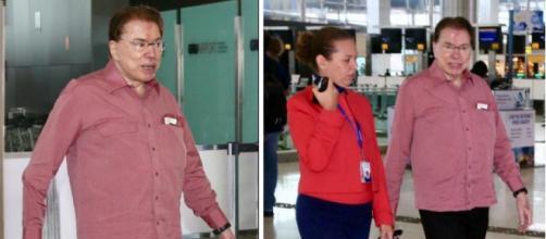 Silvio Santos deixa o Brasil e vai para os EUA