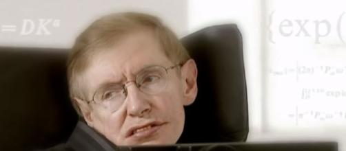 The great physicist Stephen Hawking is no more with us. - [image credit: YouTube / BBC News screencap]