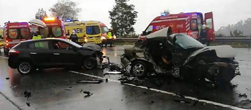 Violento acidente ocorreu numa via rápida do concelho de Fafe