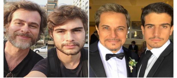Eles são idênticos a seus pais