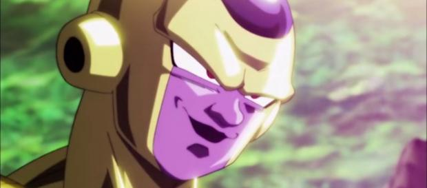 Frieza mocking God of Destrcution Toppo. [Image via ItsAnimeGirl/YouTube screencap]