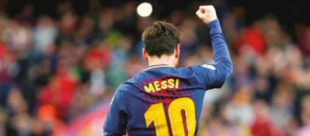Leo Messi continua sua caminhada