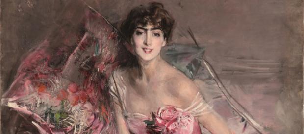 PART. Giovanni Boldini (Ferrara 1842 – Parigi 1931) La signora in ... - teladoiofirenze.it