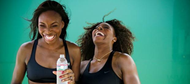 The smiles will be left in the locker room as Venus faces Serena in Indian Wells - picture courtesy of nytimes.com