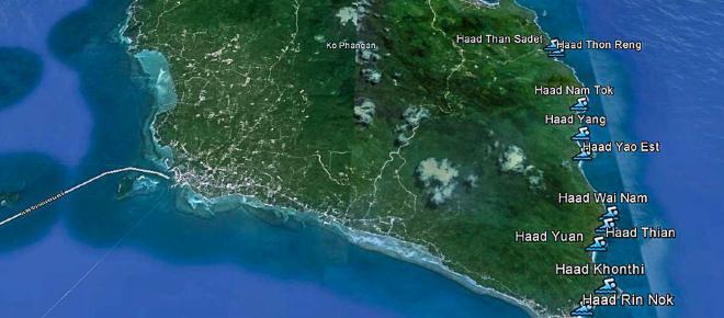 Alla scoperta dell'isola di Koh Phangan