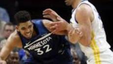 NBA : Minnesota se paye un Golden State diminué