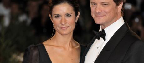 Colin Firth and Livia Giuggioli at 2009 Venice Film Festival. - [Image via Nicogenin / Wikimedia Commons]