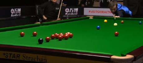Ryan Day vs Scott Donaldson - Snooker Gibraltar Open 2018 SF- Image credit - Snooker Fans   YouTube
