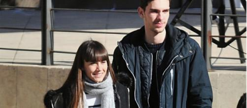 Aitana junto a Vicente / Europa Press