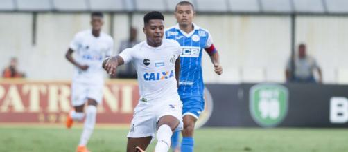Diogo Vitor ganhou nova oportunidade contra o São Bento. (foto reprodução).
