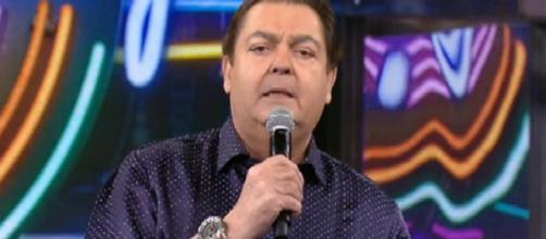 Faustão se revolta com a situação do país durante programa ao vivo (Reprodução/GShow)