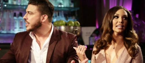 Jax Taylor and Scheana Marie appear on 'Pump Rules.' [Photo via Bravo/YouTube]