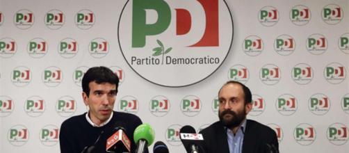 Maurizio Martina e Matteo Orfini - foto tratta da avvenire.it