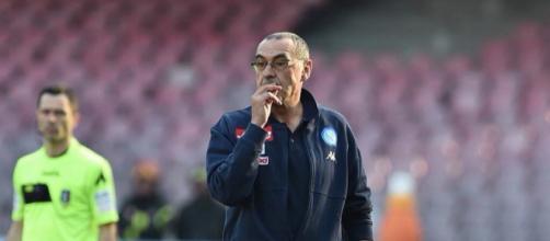 Maurizio Sarri (fonte foto: SSC Napoli Facebook Official Account)