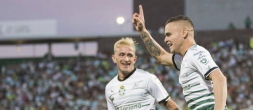 Santos derrota a Monterrey y se queda con el liderato del torneo ... - com.mx
