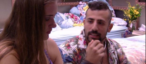 ''BBB18'': Patrícia tem ciúme de Kaysar com Anavitória