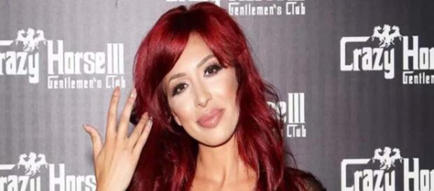 "Former ""Teen Mom OG"" star Farrah Abraham has plenty of scandals to share. [Image Credit: Gossip and More/YouTube]"