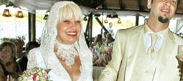 Israela Vodovoz și Liviu Arteni la nunta lor