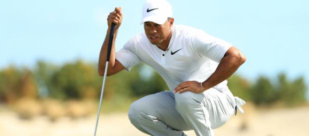 El jugador de golf Tiger Woods