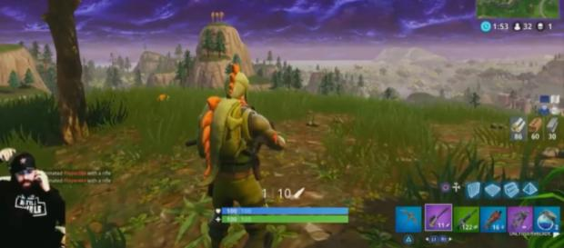 YouTuber Keemstar in one of his recent 'Fortnite' streams - YouTube/KEEMSTAR Clips!