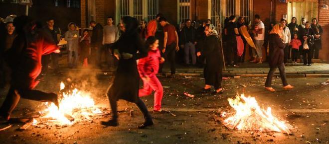 La fête du feu, une escalade des révoltes en Iran ?