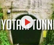 Túnel Kiyotaki está localizado no Japão