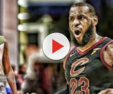 LeBron James wants to play with his son - (Image: YouTube/Cavs)