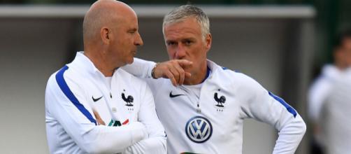 Didier Deschamps était très en colère après ses joueurs défaits par la Colombie, vendredi. (bfmtv.com)