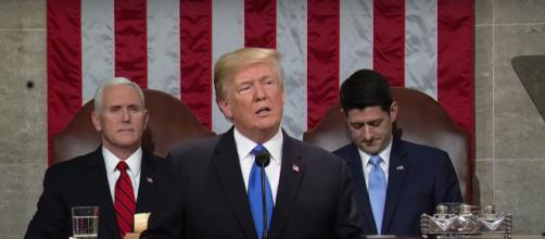 Donald J. Trump [ image via YouTube/CNBC]