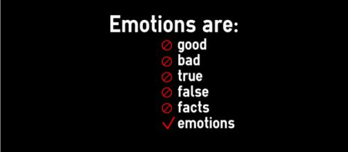 Emotions are nothing more than emotions. (Infographic by Danielle Lilly.)
