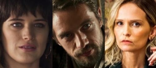 Fabiana, Renato e Clara em grande embate em 'O Outro Lado'