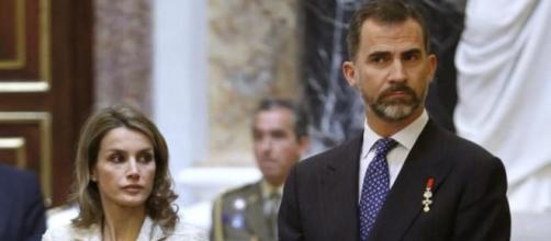 Felipe y Letizia en imagen de archivo