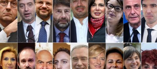 I nomi di tutti i parlamentari famosi eletti in parlamento