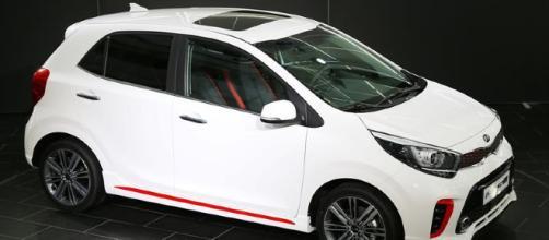Kia en el salón del automóvil en Ginebra.