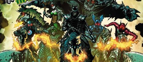 Nuevos avances de revisión: Dark Knights Rising: The Wild Hunt # 1