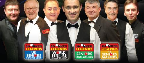Snooker Legends return to Ireland in Jan 2018 - Sports Matters TV - sportsmatters.tv