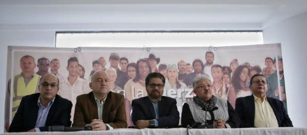 Am vergangenen 8. März kündigte die FARC ihren Rückzug aus dem Präsidentschaftswahlkampf an. Foto: Colprensa - Sofía Toscano
