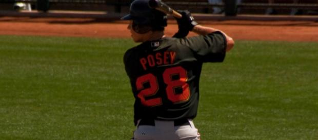 Buster Posey still is seen by most as the best catcher in the game. Image Source: Flickr | Bryce Edwards