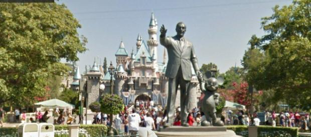 Disneyland, Google Street, View | (Image credit: Baaz/Youtube screencap)