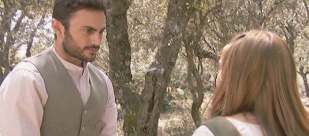 Il Segreto, aprile 2018: Julieta impedisce a Saul di compiere un atroce gesto