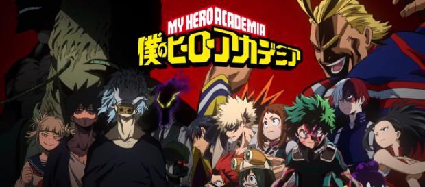 Ilustración de Boku No Hero Academia, uno de los animes mas esperados