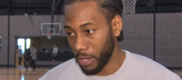 Kawhi Leonard is expected to play on Thursday (Image Credit: KENS 5/YouTube)