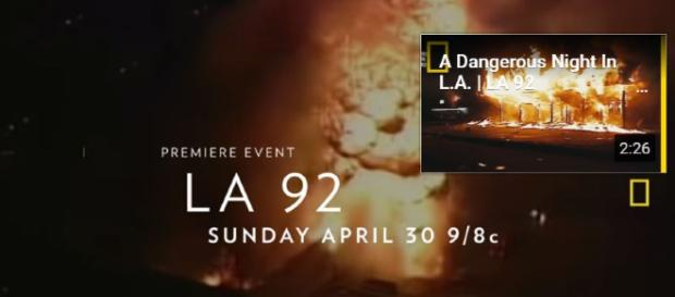 LA 92 - Official Film Trailer | National Geographic - Image credit - National Geographic | YouTube