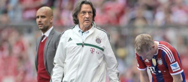 Müller-Wohlfahrt und Pep Guardiola (Quelle: bild.de)
