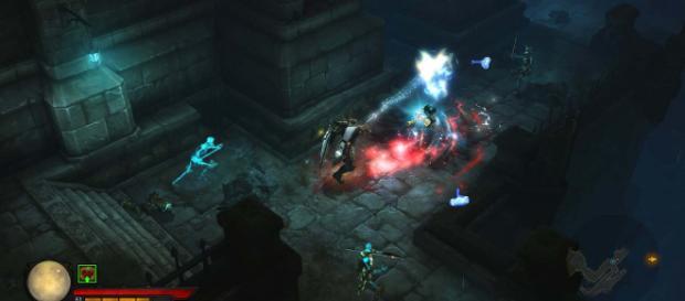 Screenshot of gameplay from 'Diablo 3.' [ Image via flickr.com]