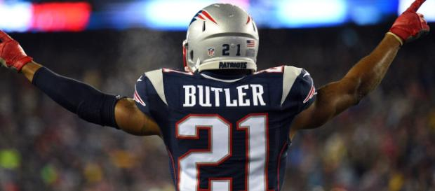 The Lions are interested in Malcolm Butler. [Image via NBC Sports/YouTube]