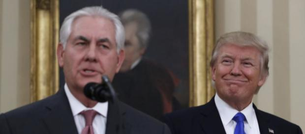 Tillerson Sworn In as Trump's Secretary of State - voanews.com