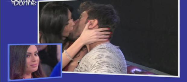 Uomini e Donne: Mariano Catanzaro bacia Marilisa